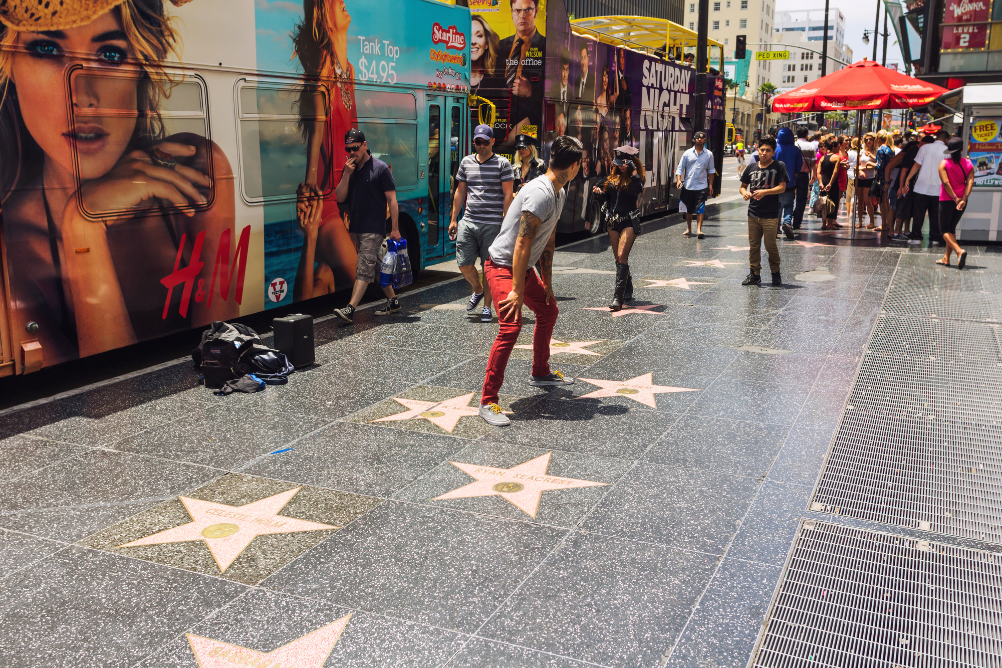 group tours to hollywood blvd